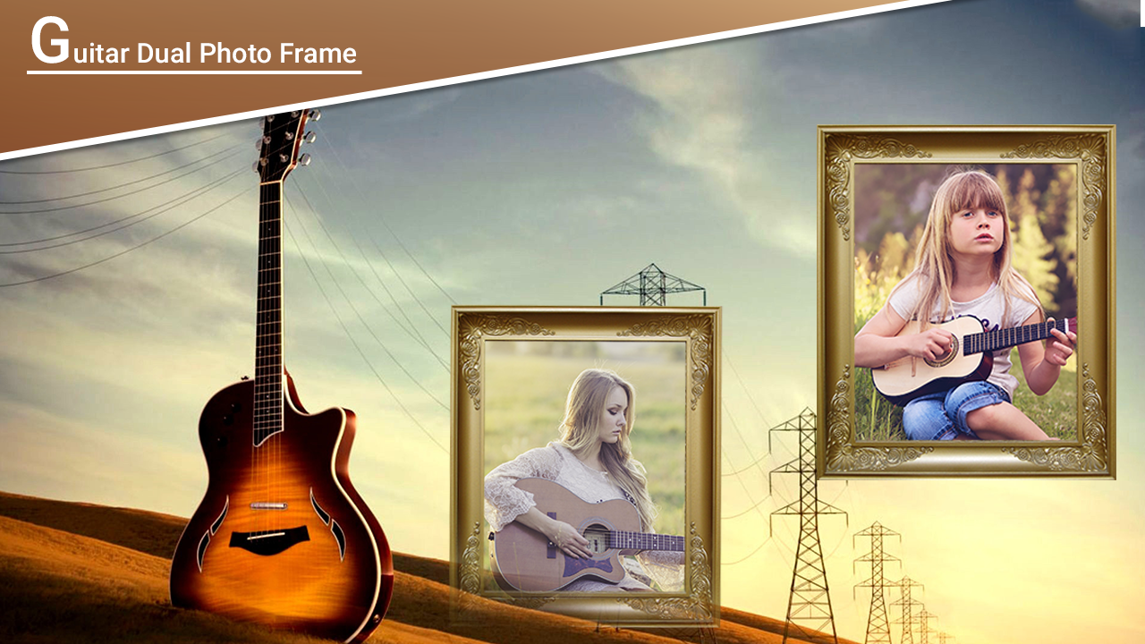 Guitar dual photo frames android apps on google play guitar dual photo frames screenshot jeuxipadfo Gallery