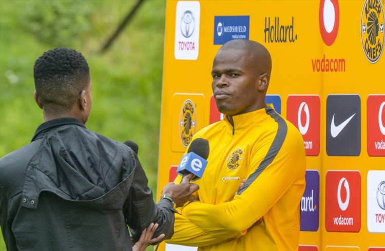 Willard Katsande of Kaizer Chiefs during the Kaizer Chiefs media open day at Kaizer Chiefs Village on April 12, 2018 in Johannesburg, South Africa.