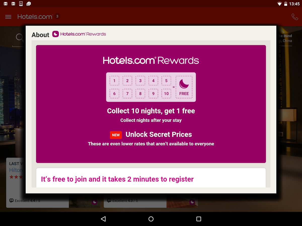 Hotels.com – Hotel Reservation- screenshot