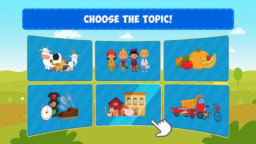 Blue Tractor: Preschool Educational Games! Apk 2