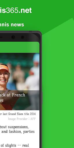 Tennis News 365 1.1.2 Windows u7528 2