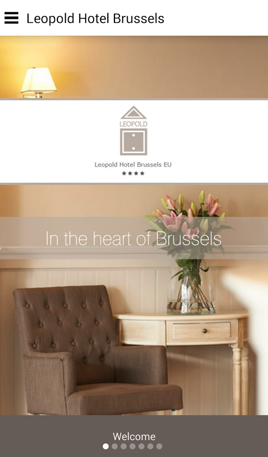 Hotel Leopold Brussels EU- screenshot
