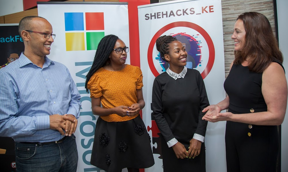 Microsoft to support Kenyan women in Cybersecurity