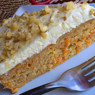 No Sugar Carrot Cake