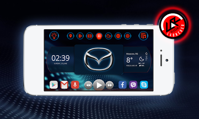 Car Launcher #1 for Total Launcher Android 1