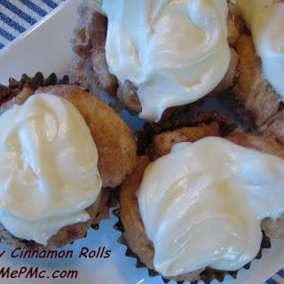 Easy Cinnamon Roll Cupcakes