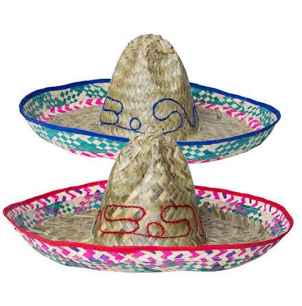 Sombrero, natur 52 cm