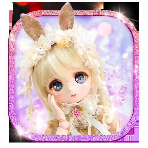 Cute Girl Theme: Princess Doll Girly wallpaper HD