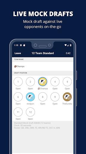 Fantasy Football Draft Wizard screenshot 2