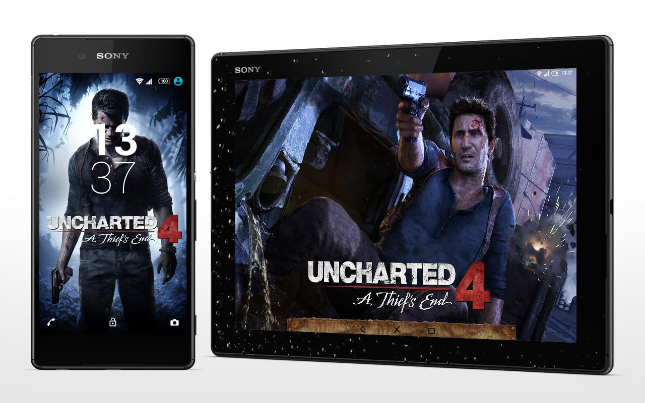 XPERIA™ Uncharted™ 4 Theme- screenshot