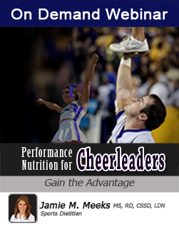 Sports Nutrition for Cheerleaders