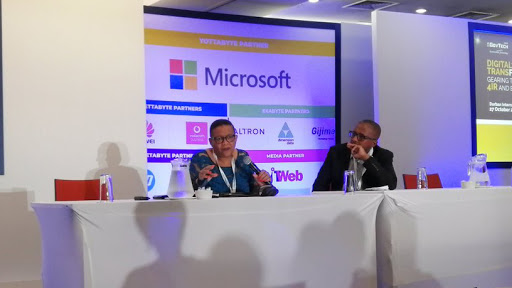 Advocate Pansy Tlakula, chairperson of the Information Regulator, spoke at GovTech 2019. (Source: SITA Twitter page)