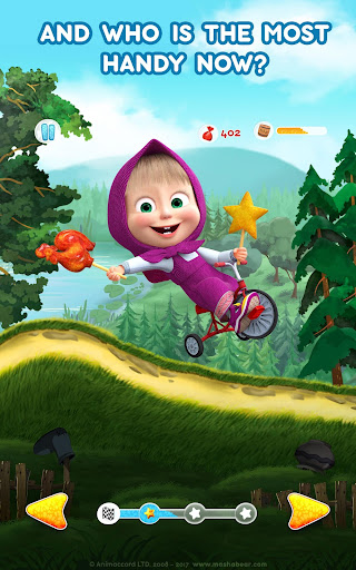 Masha and the Bear: Climb Racing and Car Games 0.0.3 screenshots 11