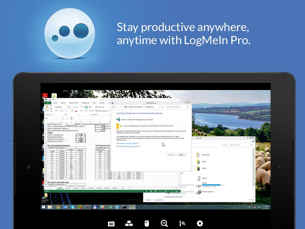 LogMeIn- screenshot