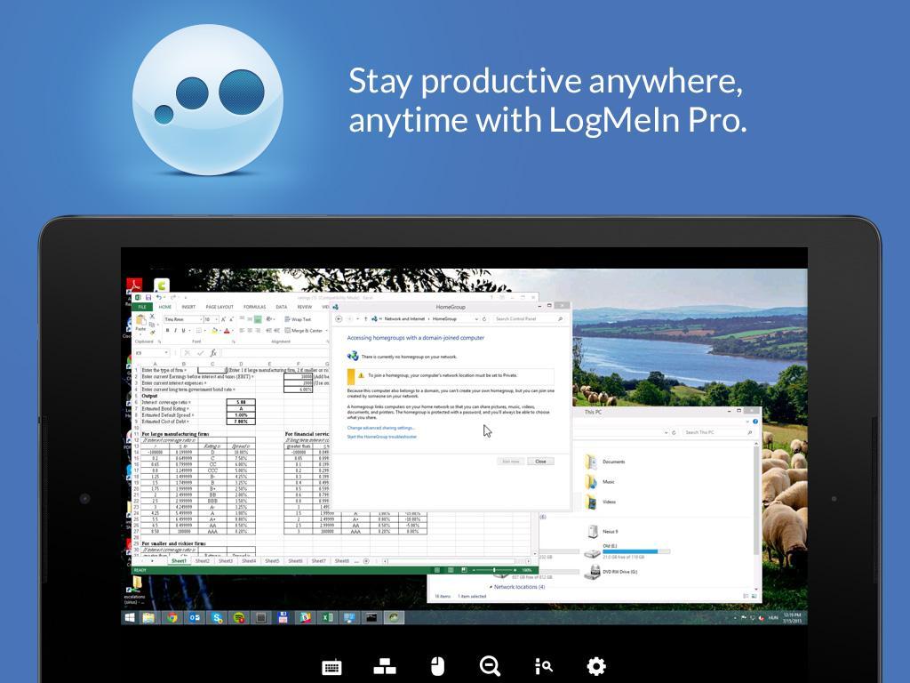 LogMeIn- screenshot