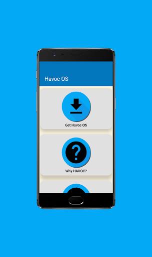 Havoc OS screenshot 1