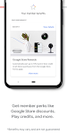 screenshot of Google One