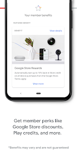 Google One Screenshot