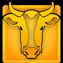 Crazy Cow Simulator 3D icon