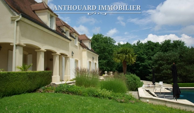 Maison contemporaine avec piscine et jardin Bergerac