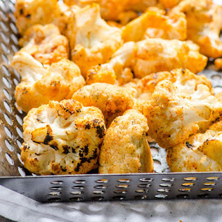 Grilled Smoky Coconut Cauliflower