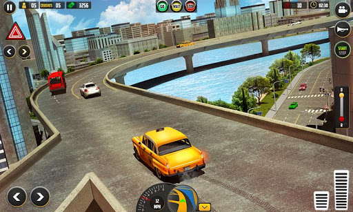 HQ Taxi Driving 3D 1.5 screenshots 2