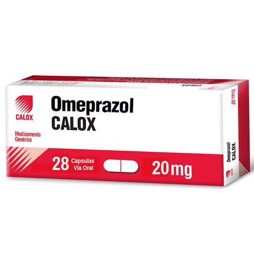 Omeprazol Calox 20 Mg X 28 Cápsulas