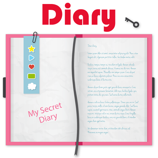 Neco Secret Diary with lock password