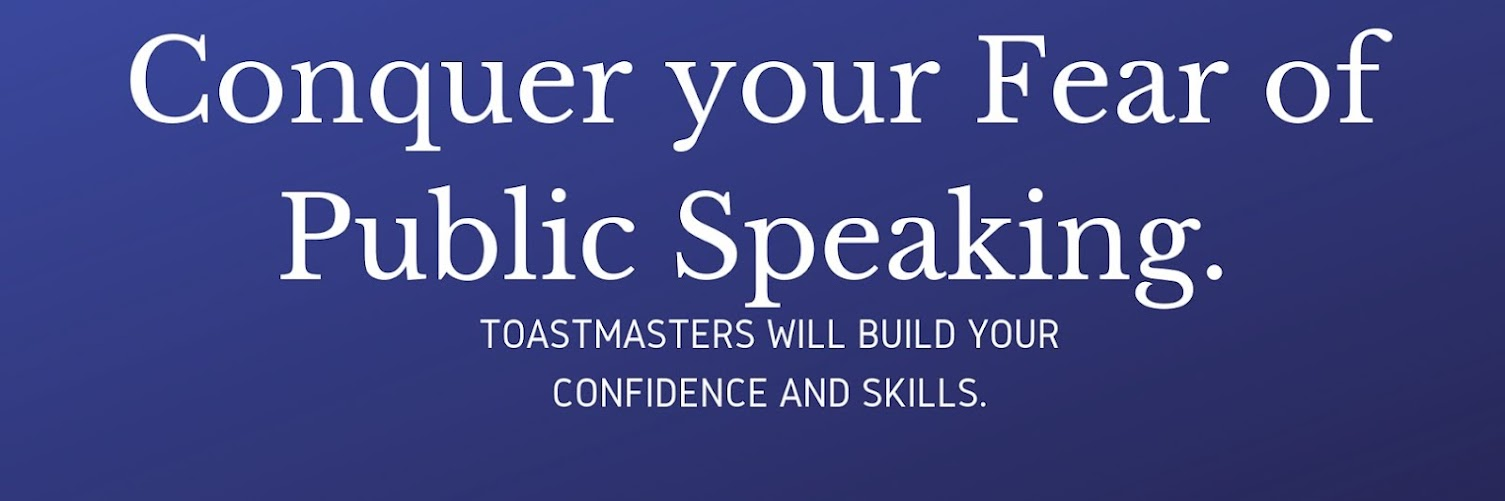 Conquer your Fear of Public Speaking