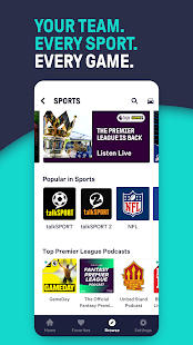 TuneIn Radio: Live Sports, News, Music & Podcasts Screenshot