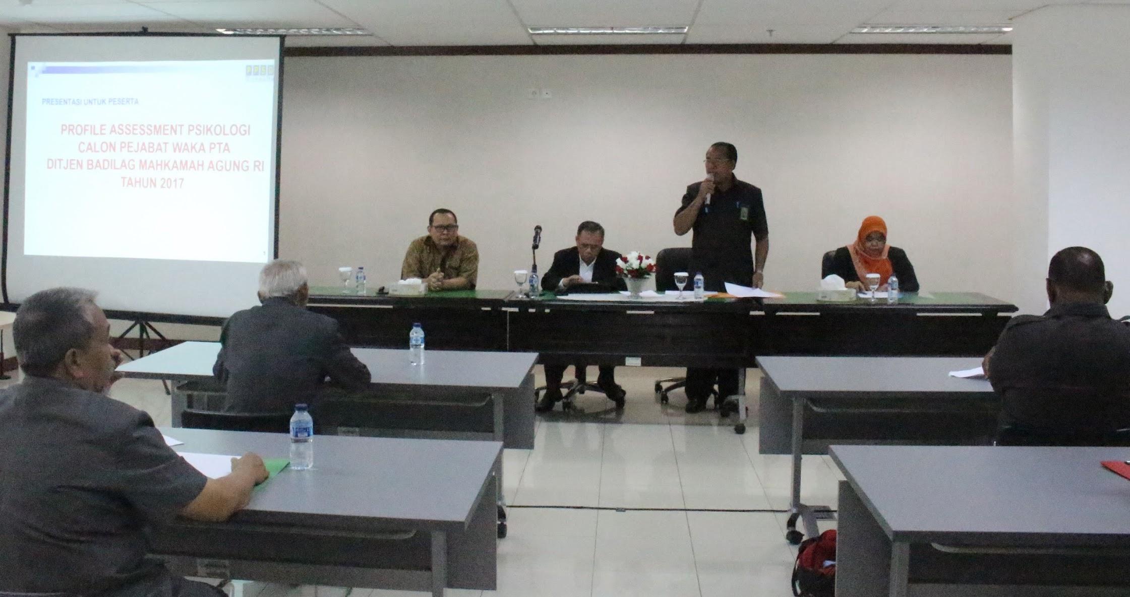 Jaring Calon Wakil Ketua PTA, Badilag Lakukan Fit and Proper Test
