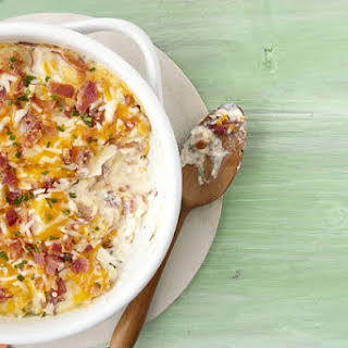 Sour Cream And Chive Potatoes Scalloped Potatoes Recipes.