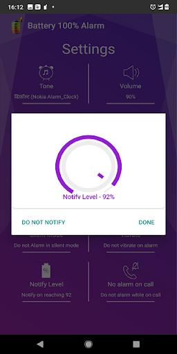 Battery 100% Alarm 4.2.8 screenshots 5