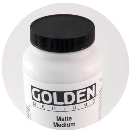 Matt Medium Golden