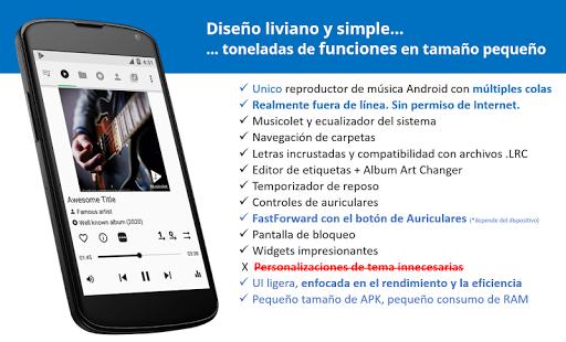 Musicolet Reproductor de Música [sin anuncios] screenshot 1