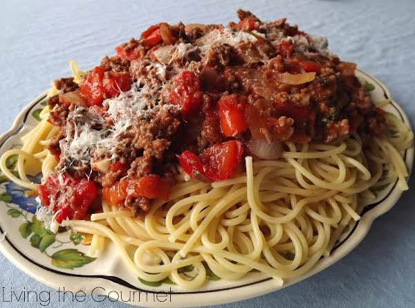 Spaghetti & Meat Sauce Recipe