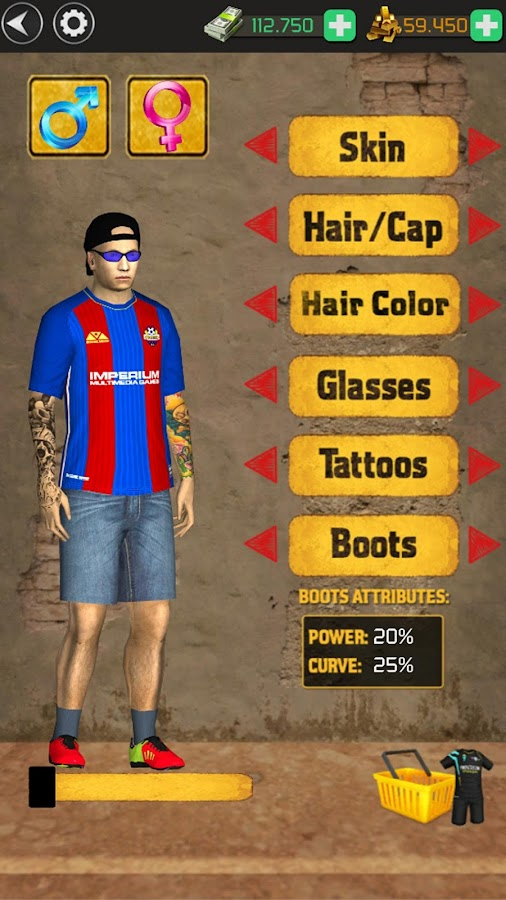 Screenshots of Street Soccer Flick US for iPhone