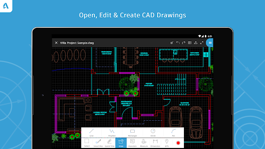 AutoCAD - DWG Viewer & Editor 4.5.0