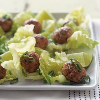 Chicken Meatballs with Ginger and Lemongrass Recipe
