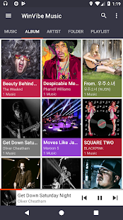 WinVibe Music Player (MP3 Audio Player)- screenshot thumbnail