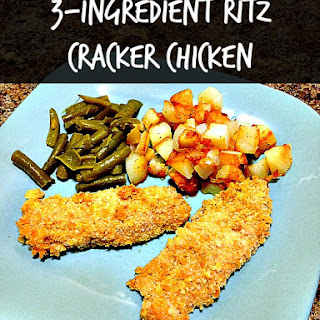 Easy 3-Ingredient Ritz Cracker Chicken