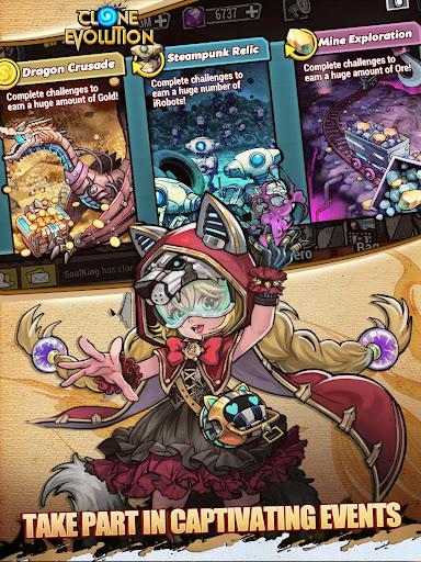 Clone Evolution: Cyber War-Borderlands Fantasy 1.4.9 screenshots 7