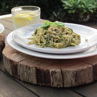 Paleo Chicken Pesto Zoodles Recipe