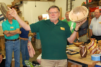 Photo: Richard said that he got it from a woodpile out back that was mentioned 2 months ago at the meeting.