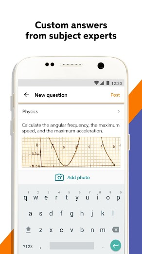 Screenshot 3 for Chegg's Android app'