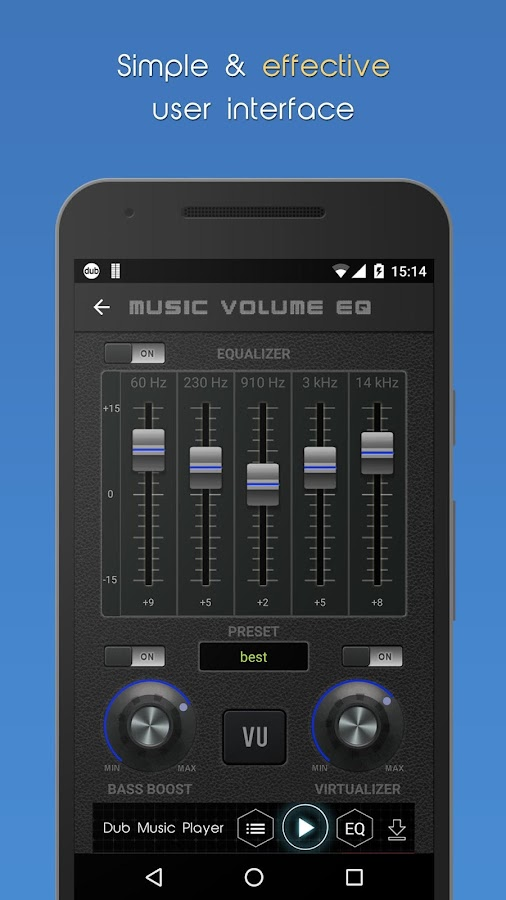 Music Volume EQ + Booster- screenshot