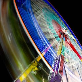 Wheel of Light by Wei Seong Yan - City,  Street & Park  Amusement Parks
