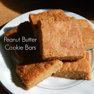 Peanut Butter Cookie Bars