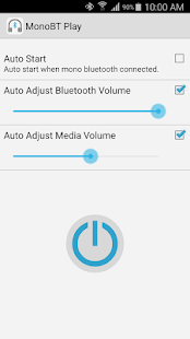 Bluetooth Router MonoBT Play Screenshot