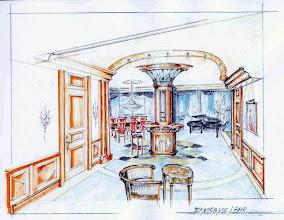 Photo: Entwurf Eingangsbereich, Monika Slomski
